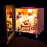 Buena calidad Modelo de madera casa de muñecas