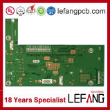 1.6mm PCB 2개의 층 OSP 안전 내부통신기 신호 회로판