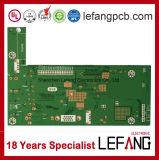 Carte électronique de carte à circuit de signal d'intercom de garantie avec OSP
