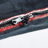 Pantaloni sanguinanti del piedino dello stretto della chiusura lampo delle ghette colorati ragazza sexy Opk-116