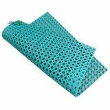 couvre-tapis en caoutchouc d'étage de 750*750*15mm, nattes en caoutchouc