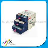 Populärer kundenspezifischer Papierschmucksache-Kasten mit Fächern