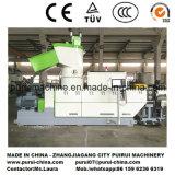 Máquina de recicl plástica do único parafuso com o PLC para Chinaplas 2017 Exhition