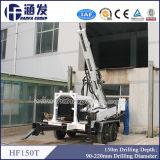 Equipo Drilling del receptor de papel de agua del acoplado que trabaja con el compresor de aire