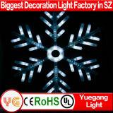 Het witte Licht van de Motie leiden van de Decoratie van Kerstmis van de Sneeuwvlok van de Flits Grote Openlucht