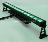 追跡の効果の屋外の照明LED壁の洗濯機ライトとのDMX制御RGBW 14X10W