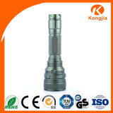 10W Xml T6 vendem por atacado a lanterna elétrica lisa de alumínio ultra brilhante