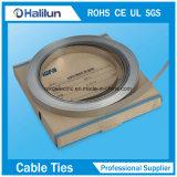 OEM Toegelaten Band van de Kabel van het Roestvrij staal Releasable