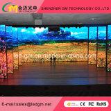 La visualizzazione di LED dell'interno di alta risoluzione dell'affitto P2 il Governo della pressofusione