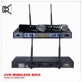 会議のマイクロフォンまたはカラオケのマイクロフォンの無線マイクロフォンシステム