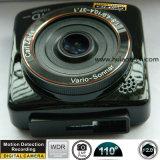 Nuevo coche lleno DVR de HD1080p construido en el G-Sensor, rectángulo negro del coche de la detección del movimiento, cámara del coche del ángulo de opinión de 5.0mega 170degree, video DVR-2414 de Digitaces