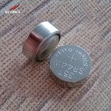 Batterie argentée de bouton de la batterie Sr44 1.55V d'oxyde de la Chine