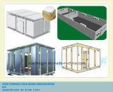 O quarto frio modular conetou por Camlock