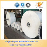 De witte Rubber Multi-Ply Transportband van het Voedsel van het Canvas