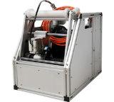 鍋及び傾きの排水および下水管の点検クローラー