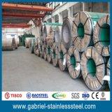 Tisco laminó la bobina del acero inoxidable del espesor de SUS304 2b 1.0m m