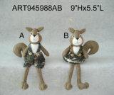 Ragazzo & ragazza di Camoflage dello scoiattolo della decorazione di natale