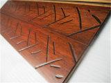 Alta calidad europea del estilo antiguo suelo de bambú natural