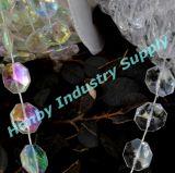 Catena di cristallo del branello del diamante libero della decorazione 10mm della festa nuziale