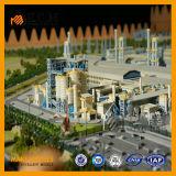 De industriële Modellen van de Planning Modellen/Urban&Master van de Tentoonstelling van Modellen
