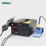 YIHUA 852D+SE schwanzlose Überarbeitungs-Station des Ventilator-SMD