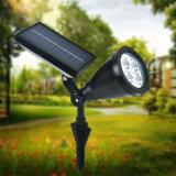 屋外の照明4 LED ABS太陽芝生ライト防水庭の景色ランプの太陽点ライトパスライト