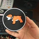 De promotie 2D of 3D Onderlegger voor glazen van de Lijst en Zachte van pvc van Matten