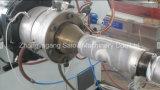 Волнистая труба полиэтилена делая машину