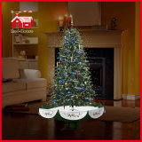 Al Kerstboom van Green New Style Snowing met LED voor Decoration
