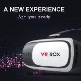 Картон Google стекел фактически реальности 3D коробки Vr пластичный