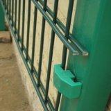 二重ワイヤーによって溶接される塀に塗る粉