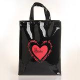 2つのサイズは黒くする防水PVC袋の方法ハンドバッグ(H013)を