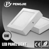 Los paneles ligeros superficiales de aluminio de SMD2835 ADC12 6W LED