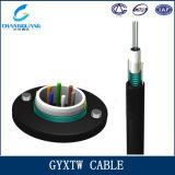 Preço aéreo blindado do cabo da fibra óptica da câmara de ar frouxa central quente das vendas GYXTW