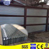DX51D Galvanized Corrugated Steel Sheet Roofing Sheet Used für Roofing