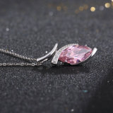 Best Selling Rosa CZ Ohrstecker Silber 925 (SH-J0031)