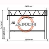 Hydraulischer Pfosten-Aufzug-Selbstplattform-Auto-Hebevorrichtung der Höhen-vier