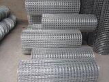 직류 전기를 통한 강철 건축에 의하여 용접된 철망사를 강화하는 직류 전기를 통한 용접한 철망사는, PVC 체인 연결 담 다이아몬드 철망사를 입혔다