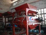Equipamento de separação magnético da areia quente do preto da venda