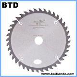 205-1200mm Tctの回状は木製の切断については鋸歯を