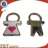 에폭시를 가진 고품질 금속 Keychain