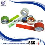 Le logo clair de couleur rouge de fond conçoivent la bande en fonction du client