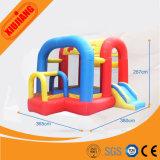 Glissière sautante gonflable de gosses d'intérieur de cour de jeu de parc d'attractions à vendre