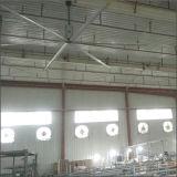 a pá do ventilador 1.5kw de 7.2m (24FT) 56rpm Planta-Usa o ventilador industrial