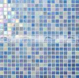 do derretimento quente Iridescent da matiz de 15X15mm telha de vidro do mosaico (BGC003)
