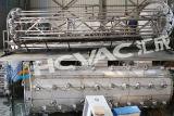 Máquina inoxidable de la hoja de acero del elevador, máquina de capa Titanium de PVD