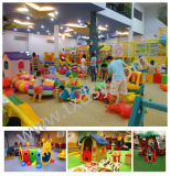 Campo de jogos macio interno do miúdo, equipamento do jogo de crianças, teatro interno