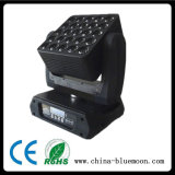 밤 Club LED RGBW 25PCS Moving Head LED Matrix Light