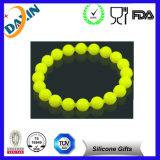 Weiches buntes kundenspezifisches Silikon-Korn-Armband