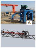 Kleber-Rohr und konkreter Pole, die Maschine herstellen